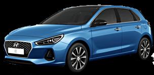 Hyundai i-30 automobilių nuoma, autonuoma