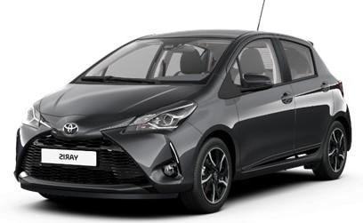 Toyota Yaris automobilių nuoma, autonuoma