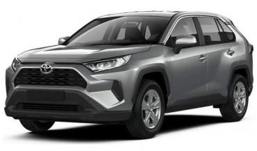 Toyota Rav4 New A/T car rental